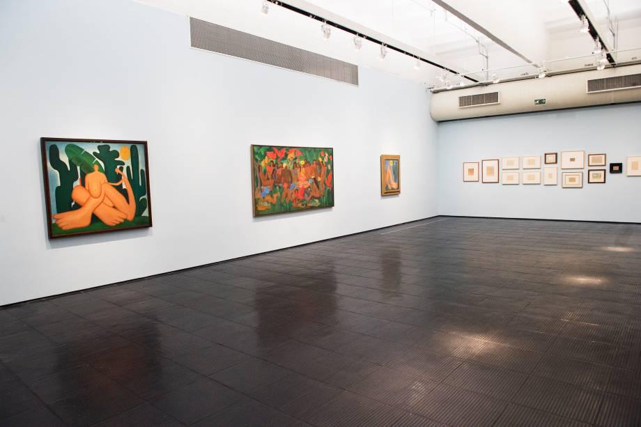 A exposição 'Tarsila Popular', traz obras da artista Tarsila do Amaral no Masp (Museu de Arte de São Paulo) - 03/04/2019