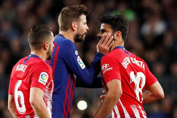 Campeonato Espanhol – Barcelona x Atletico Madrid