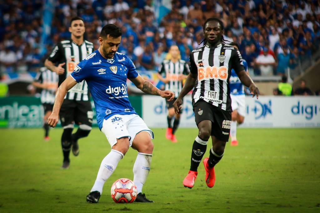 Campeonato Brasileiro Classico Entre Cruzeiro E Atletico Mg Termina Em Empate No Mineirao