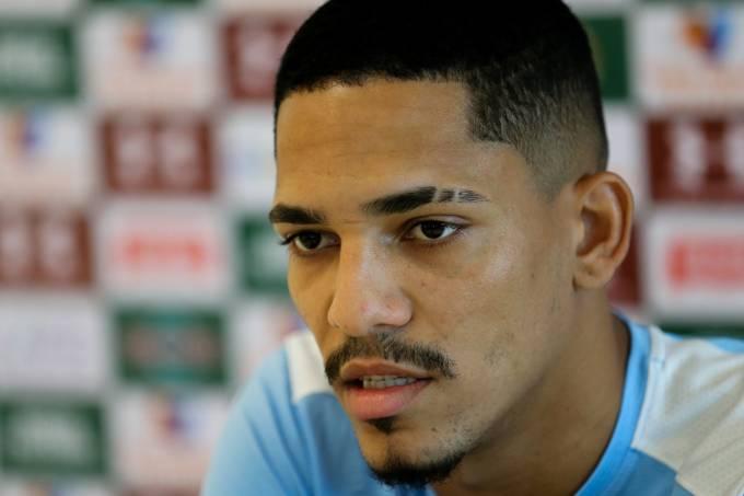 Gilberto, atacante do Fluminense
