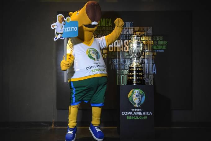 Zizito, mascote da Copa América