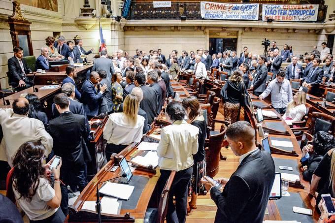 Sessão para votação do impeachment de Marcelo Crivella