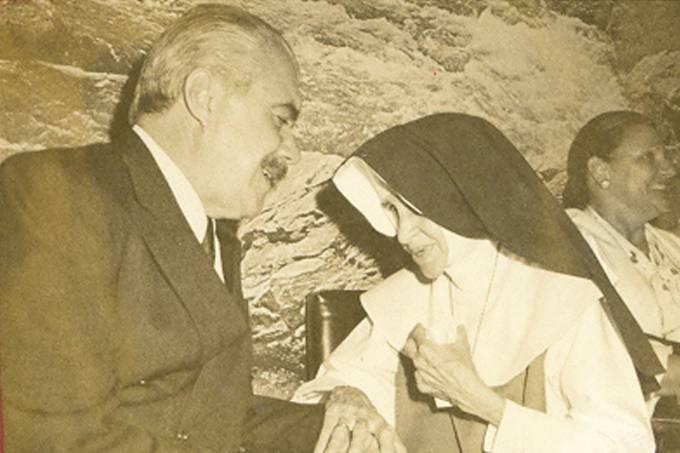 José Sarney e Irmã Dulce