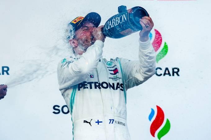 Bottas vence o GP do Azerbaijão