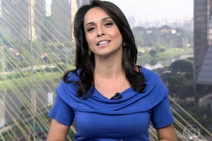 A jornalista Izabella Camargo