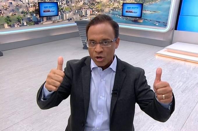 O apresentador do Balanço Geral da Bahia, José Eduardo