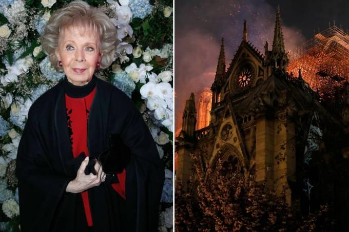 Lily Safra doa R$88 milhões para reconstroção de Notre Dame