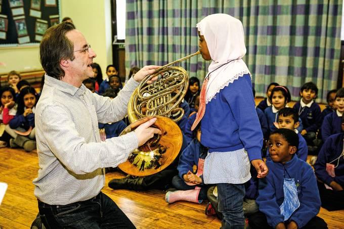 Projeto social do London Symphony