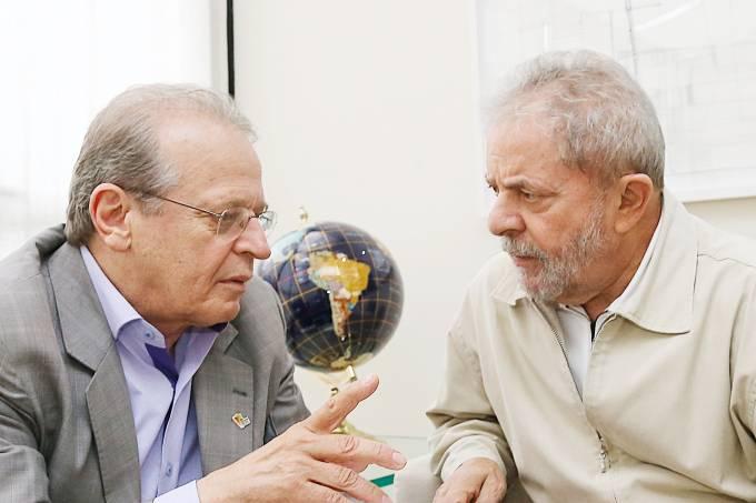 Tarso Genro e Lula