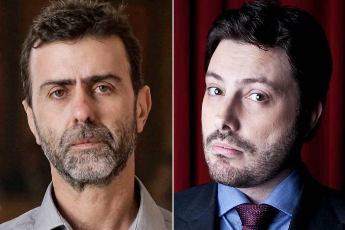 Marcelo Freixo e Danilo Gentili