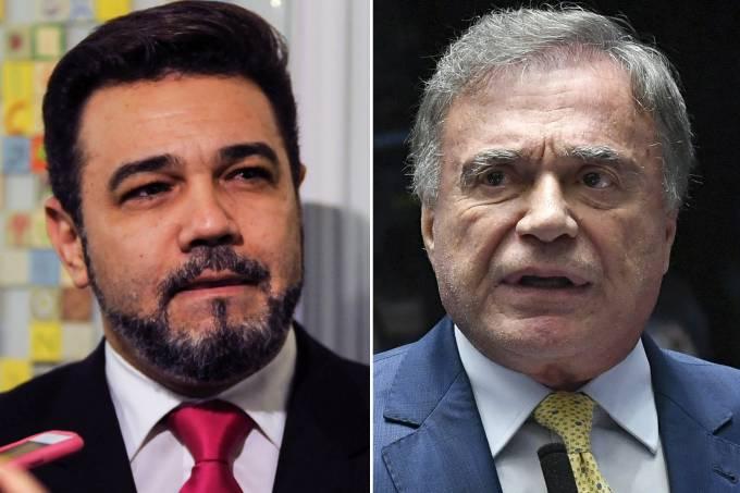 Marco Feliciano e Álvaro Dias