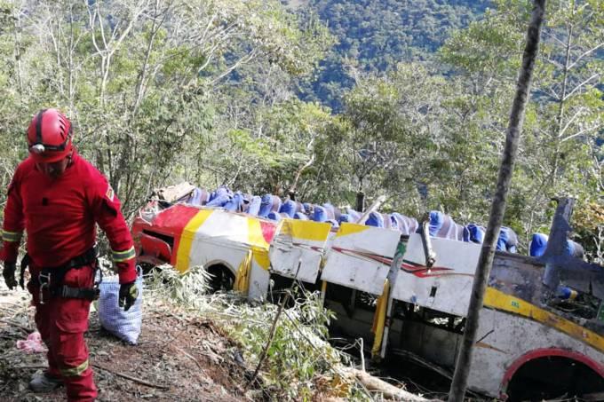 Acidente na Bolivia