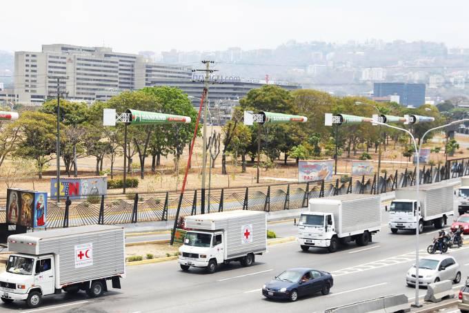 Cruz Vermelha chega na Venezuela