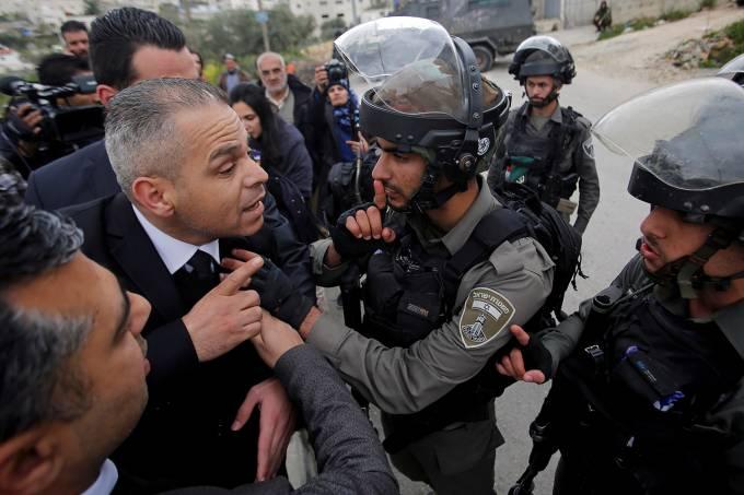 Conflitos na Cisjordânia