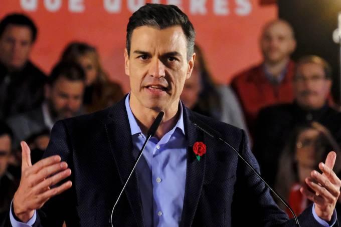 Eleições Espanha – Pedro Sánchez
