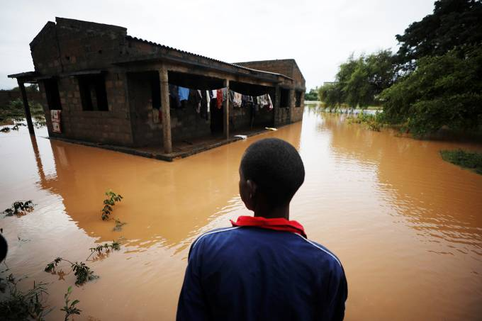 Ciclone Kenneth em Moçambique