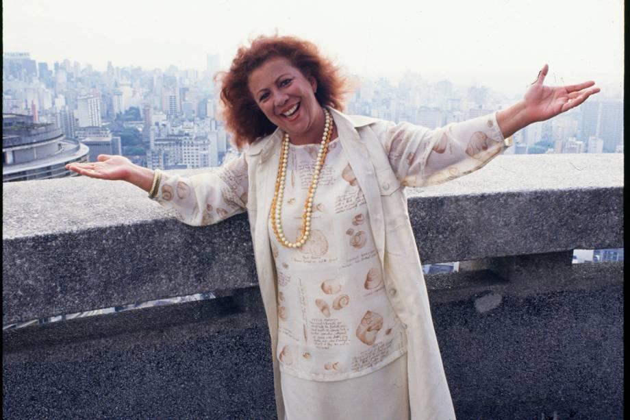 A cantora Beth Carvalho - 2004