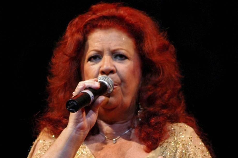 A cantora Beth Carvalho - 2006