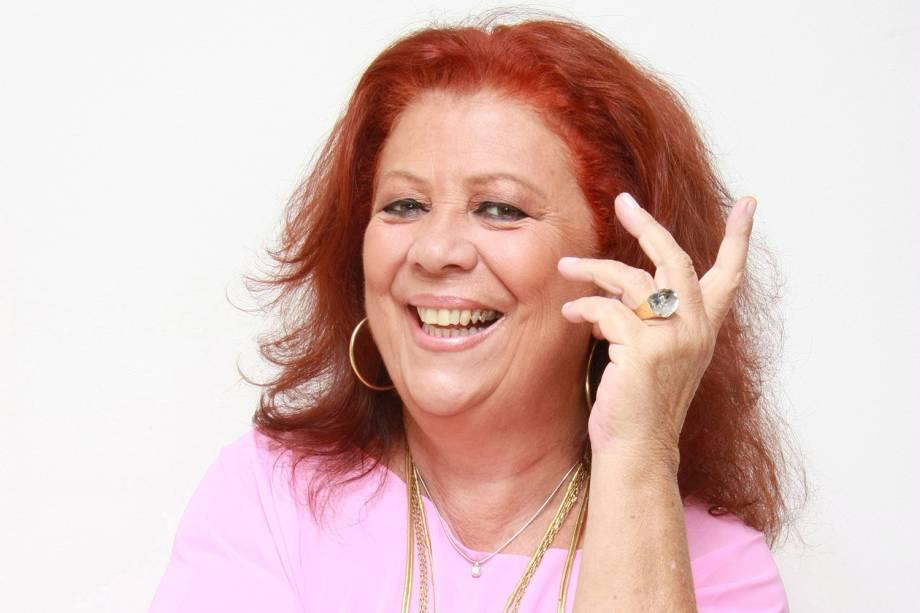 A cantora Beth Carvalho