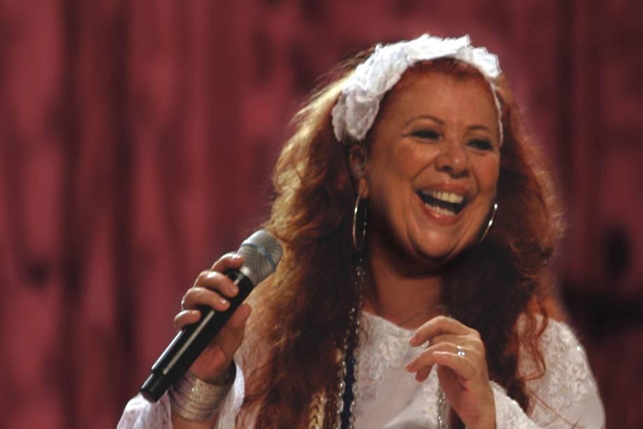 A cantora Beth Carvalho - 2007