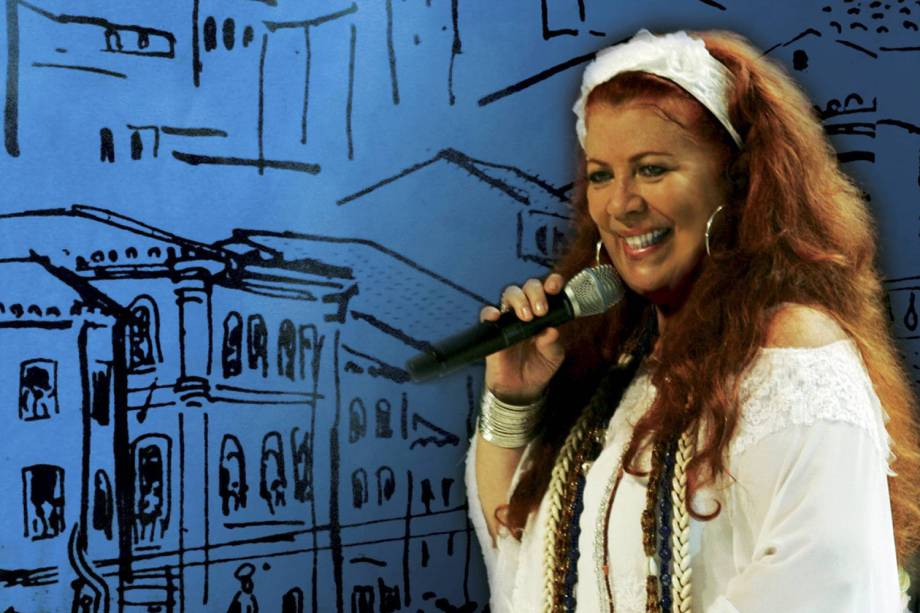 Capa do disco 'Beth Carvalho canta o samba da Bahia'- 2007
