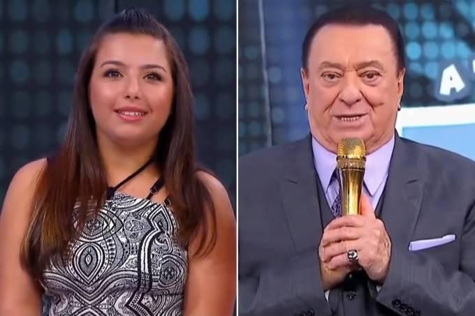 Yasmim Gabrielle e Raul Gil