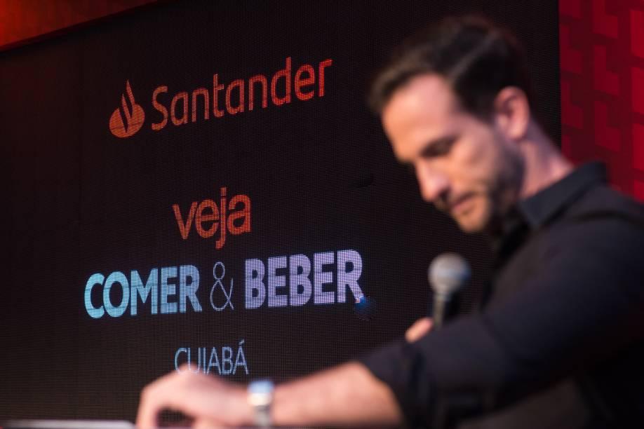 O apresentador Daniel Adjuto