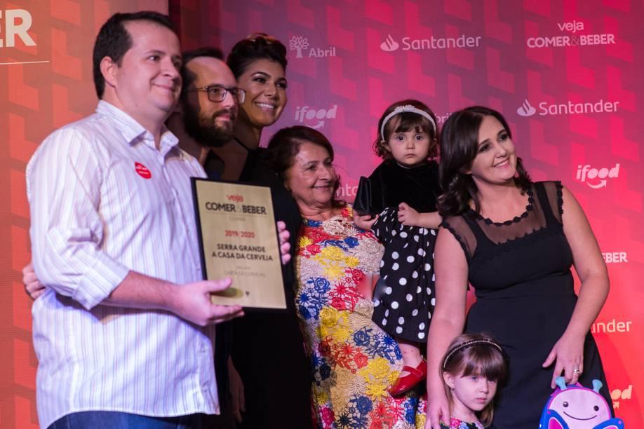 A família Serra Grande: melhor carta de cerveja
