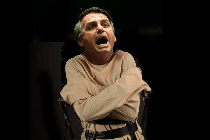 Jair Bolsonaro – Camisa de força