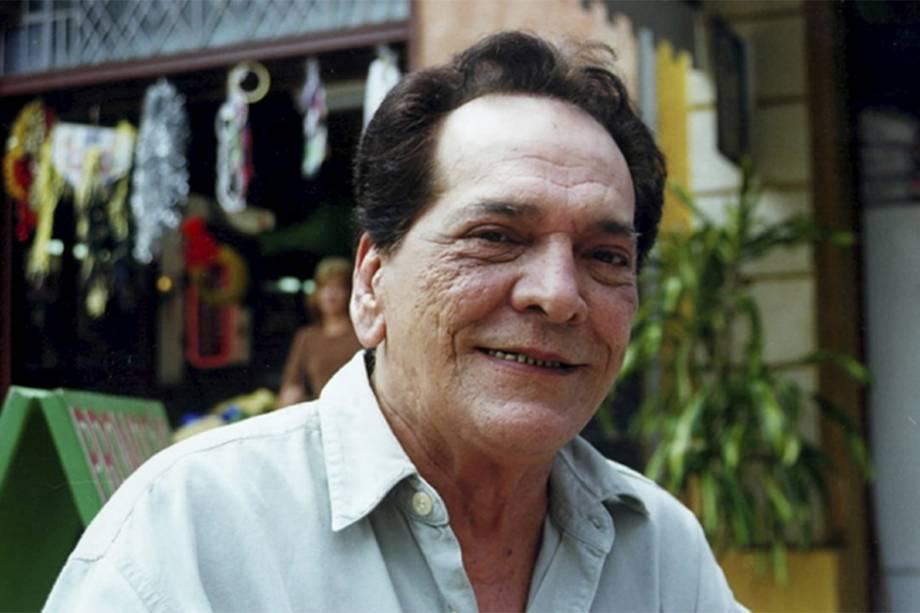 Lúcio Mauro na novela 'Pecado Capital' em 1998