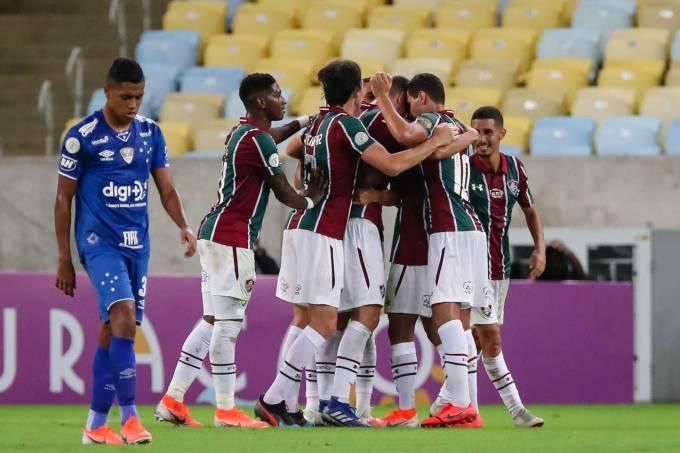 Partida entre Fluminense e Cruzeiro