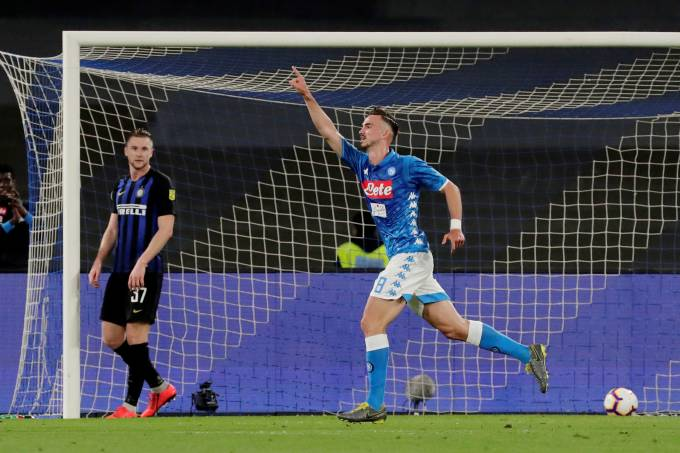 Serie A – Napoli v Inter Milan