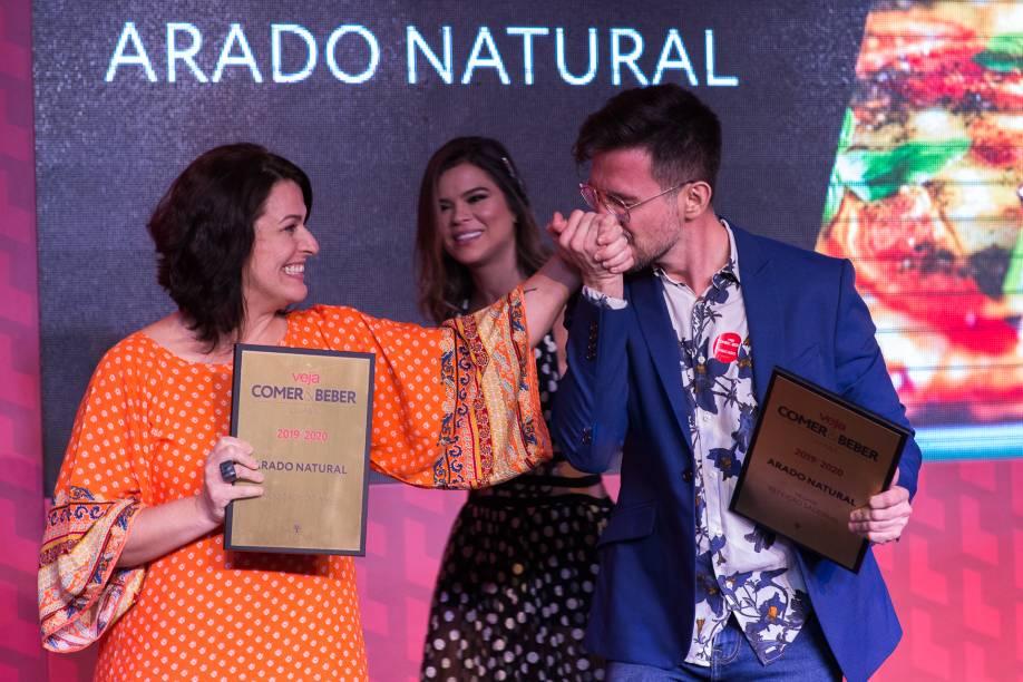 Arado Natural: novamente no palco para receber o prêmio de novidade do ano