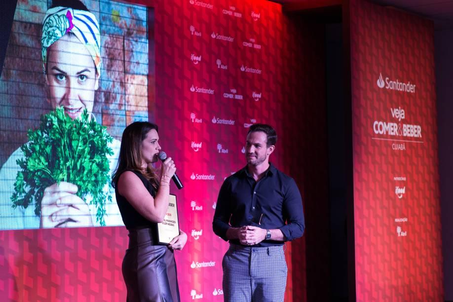 Carol Manhozo: ela levou o prêmio de chef do ano