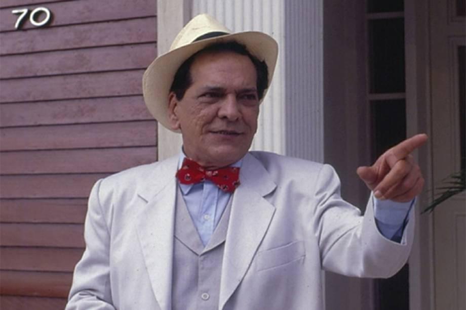 Lúcio Mauro em 'Chico Anysio Show' em 1982