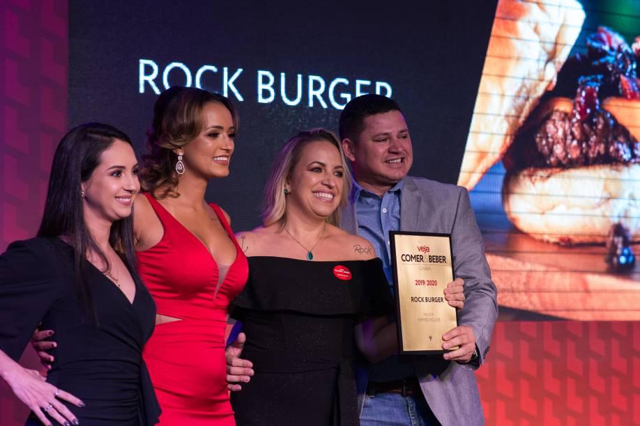 Rock Burger: alegria de bicampeã