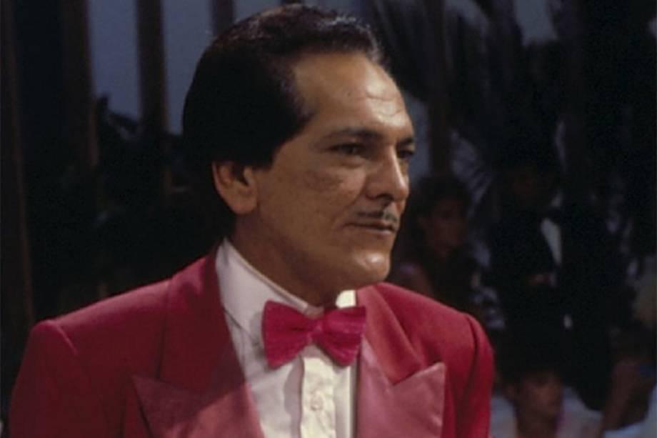 Lúcio Mauro em 'A Festa é Nossa' em 1983