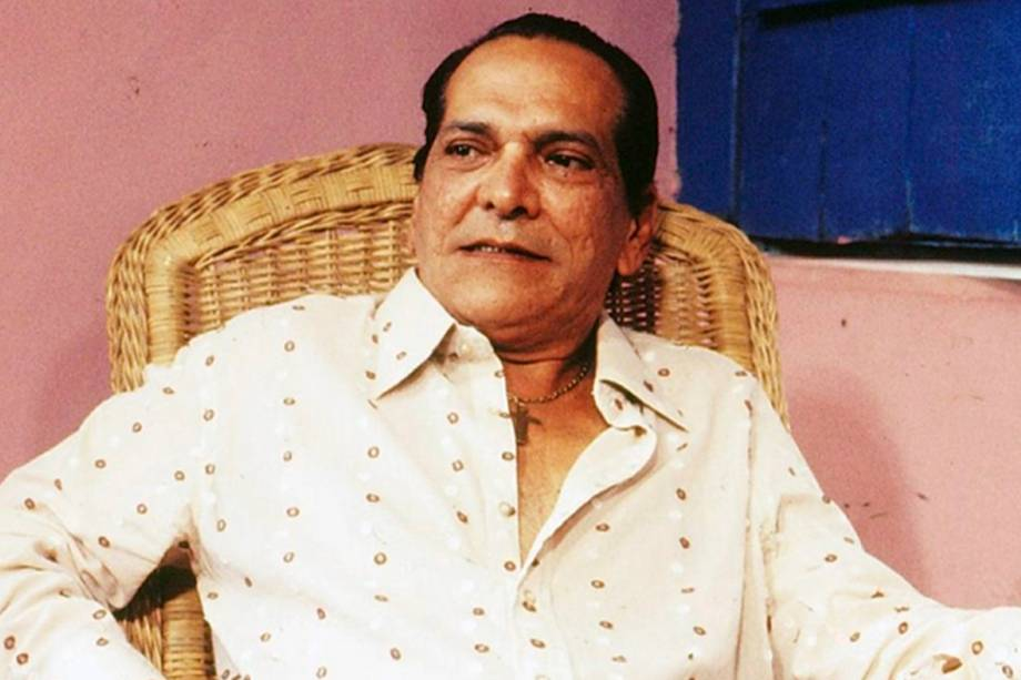Lúcio Mauro na novela 'O Pagador de Promessas' em 1988