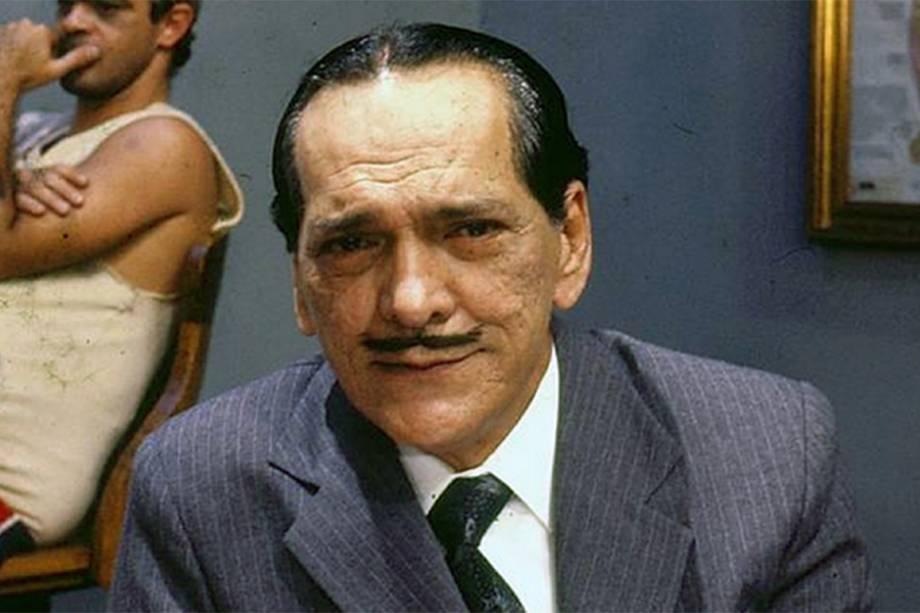 Lúcio Mauro na 'Escolinha do Professor Raimundo' em 1990