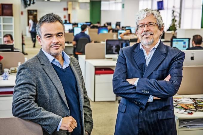 Maurício Lima e André Petry