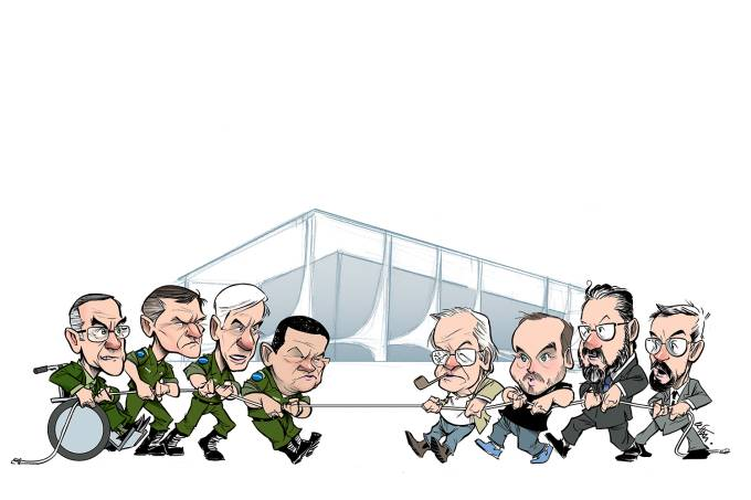 A guerrilha do palácio