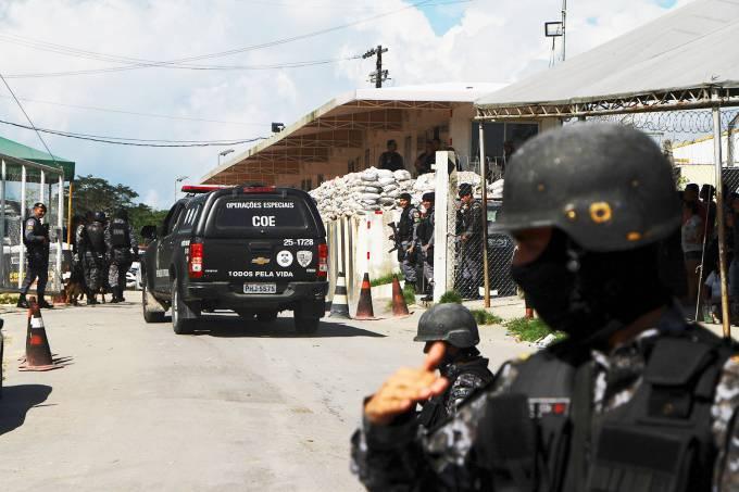 Massacre em presídios de Manaus (AM)