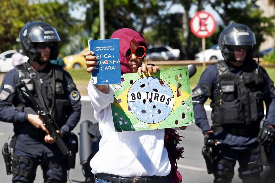 Estudantes protestam contra cortes de verbas nas universidades em Brasília (DF) - 30/05/2019