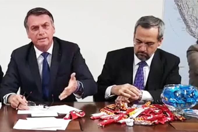 Jair Bolsonaro e Abaraham Weintraub