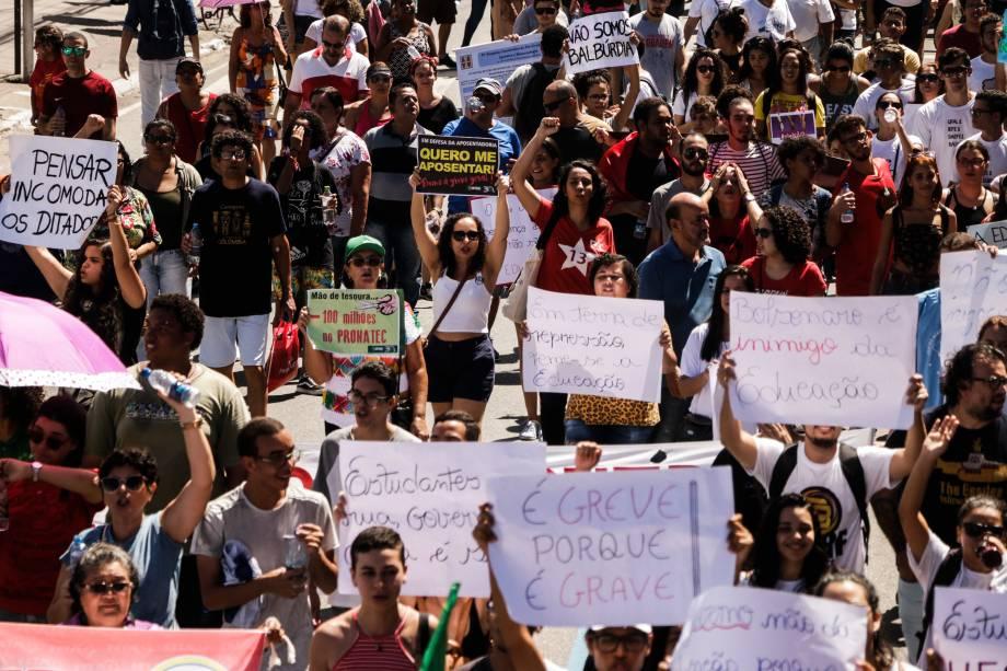 Protesto contra cortes na educação em Maceió (AL) - 15/05/2019