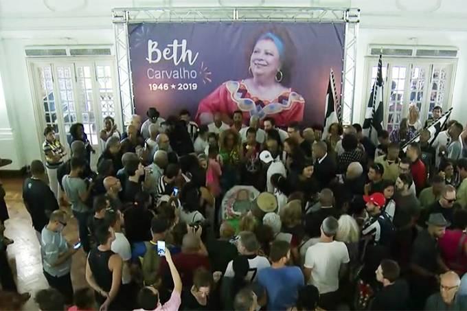 Velório de Beth Carvalho