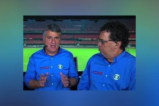 Cleber Machado e Casagrande