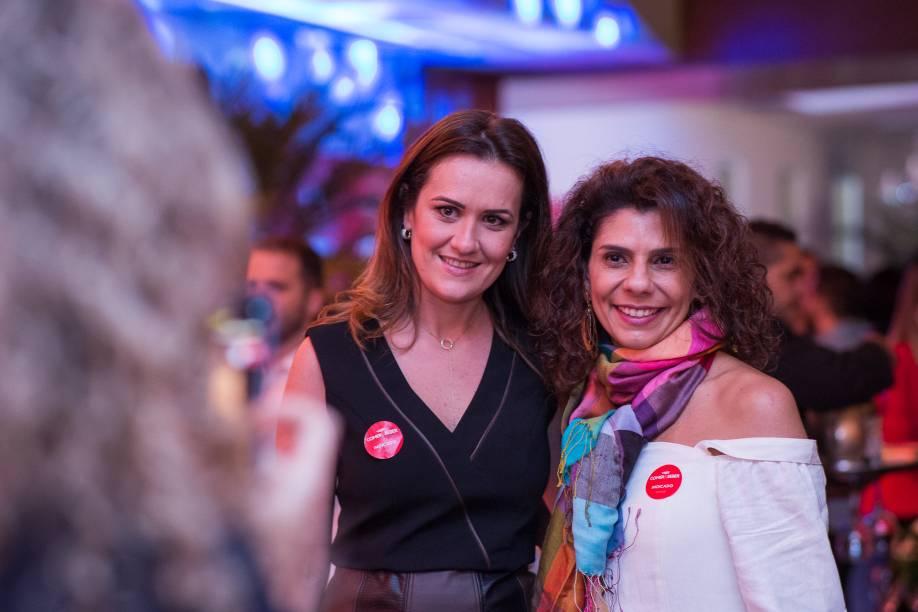 Carol Manhozo e Ariani Malouf