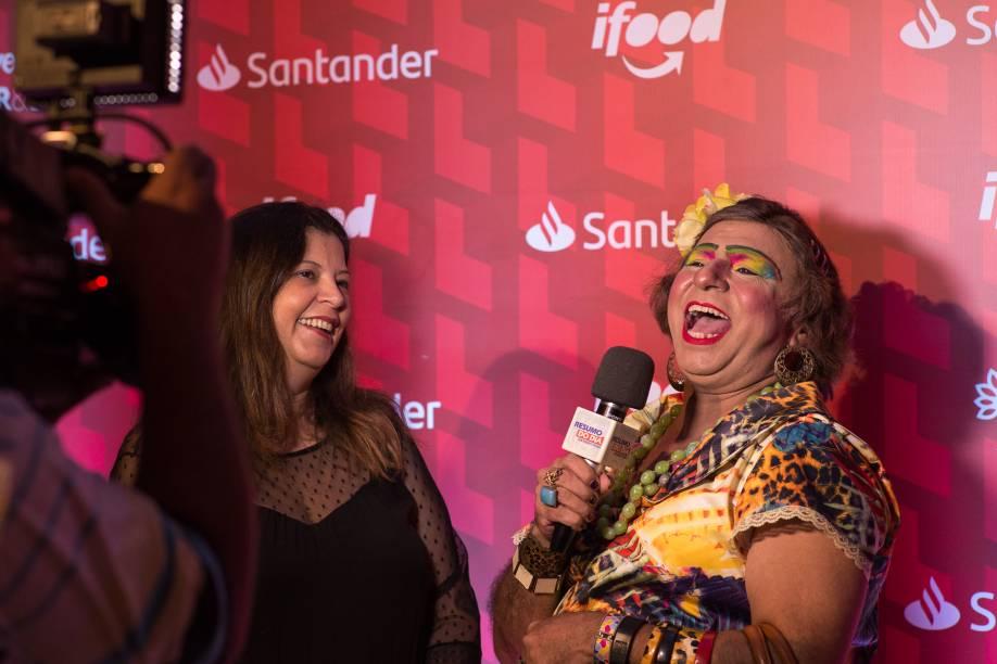 Mônica Santos e Comadre Pitu, do Resumo do Dia