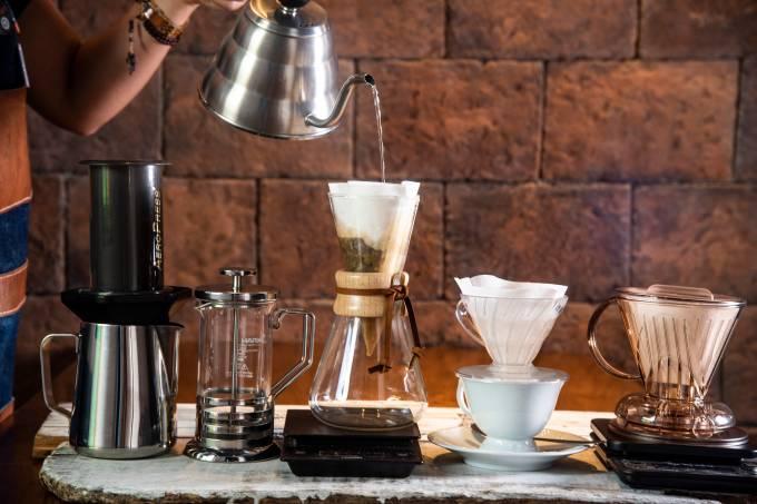 Amado Grão: loja campeã oferece diferentes métodos de extração da bebida
